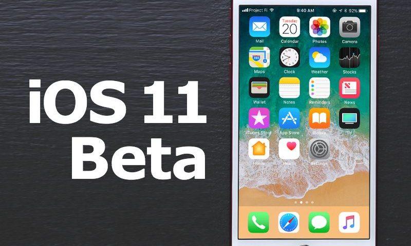 IOS 11 Beta Release Date
