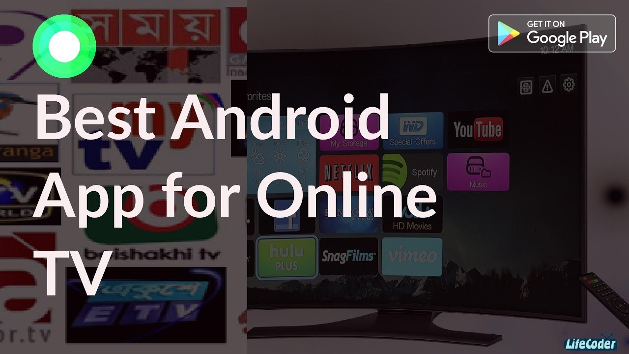 Online TV Android Apps