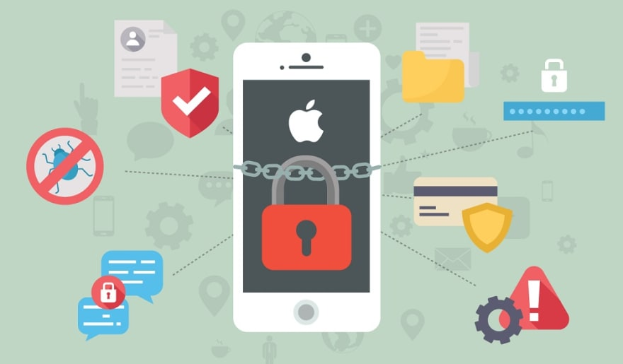 Protecting iPhone from Spy Attack
