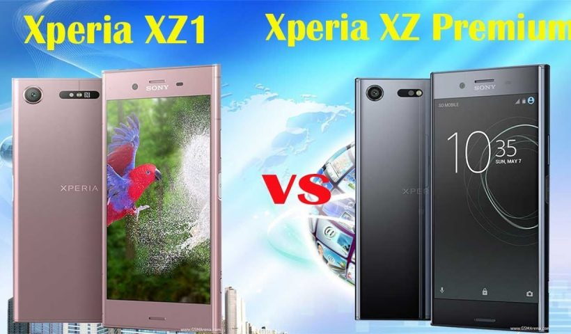 Sony Xperia XZ1 vs Xperia XZ Premium