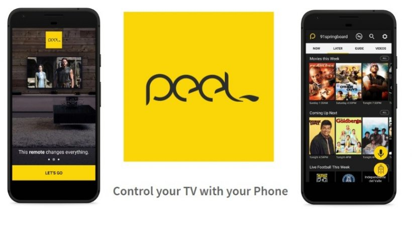 Peel Remote App for Android & iPhone