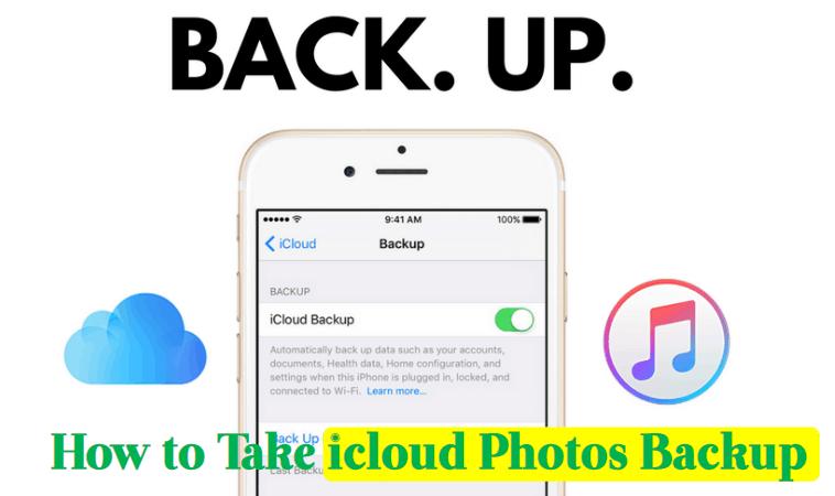 iCloud photos backup