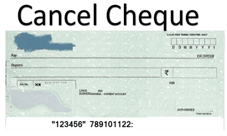 How to Cancel a Cheque