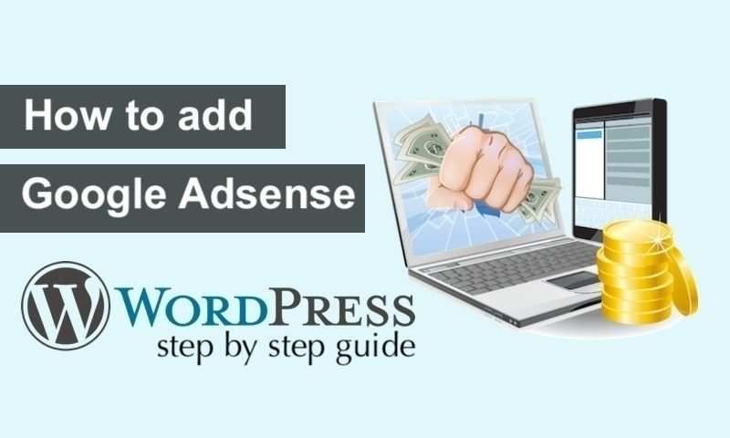 how to add Google Adsense in WordPress
