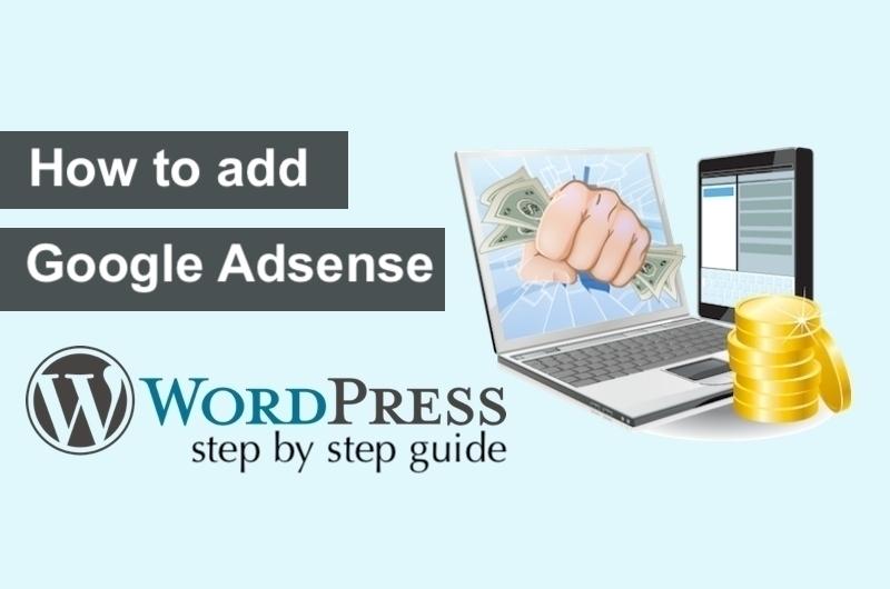 how to add Google Adsense in WordPress