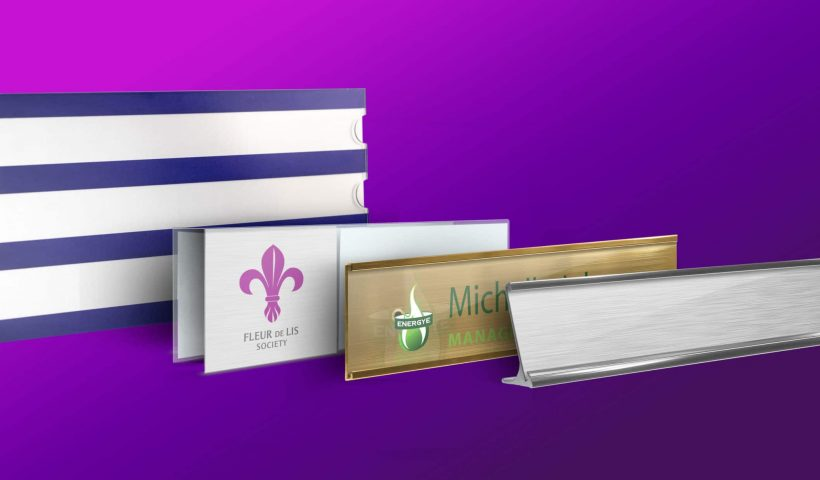 Materials Is Best Suited for Nameplates