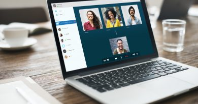 Conference Calls Group Friends Video Chat Connection Concept